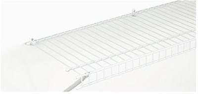 SuperSlide White Linen Ventilated Shelf