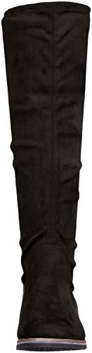 Nero 25507 Stretch black Stivali Alti 44 Caprice Donna 7dFYInqqw