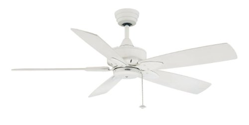 Fanimation FP7510MW Windpointe 5-Blade Ceiling Fan, Matte White