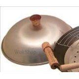 Wok Shop Aluminum Dome Wok Cover,13 Inch(for 14'' Wok)