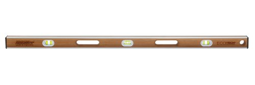 Leveling 2.5' System (Johnson Level 1600-4800 48-Inch Eco-Tech Bamboo Level, Brown)