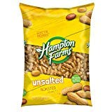 Hampton Farms Unsalted Roasted In-Shell Peanuts, 5 lbs. (pack of ()
