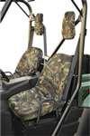 Classic Accessories QuadGear UTV Seat Cover (Hardwoods, Fits Polaris (Classic Seat Covers)