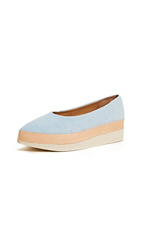 Coclico Chaussures Femmes Perl Plate-forme Appartements Ante Rosée