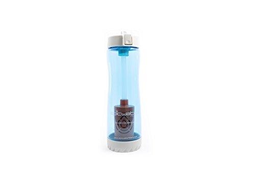 - The Nomad | Water Filter Bottle by Epic Water Filters | Blue | 25 Ounces | 100-Percent BPA- and BPS-Free | Includes 1 Everyday Filter to Remove Lead, Fluoride, Chromium 6 and More