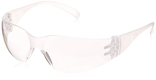 3M 70071559465 Virtua 11228-00000-100 Clear Polycarbonate Safety Glasses, Uncoated Lens, Clear Temple, Price Per - Price Glasses Lens