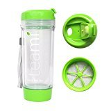 Tea Tumbler Color Green by Teami Size 13.05 Ounces 400 Milliliters - Green Juice Tumbler