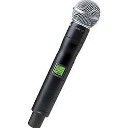 - Shure UR2/SM58 UHF-R Wireless Handheld Transmitter with SM58 Microphone