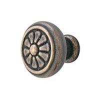Emtek Products 86096-MB Tuscany Petal Knob -