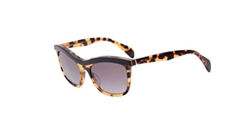 Prada Cat Eye Sunglasses SPR 19P Tortoise NAI-3M1 ()