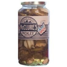 McClures Sweet and Spicy Pickle, 32 Ounce - 6 per case.