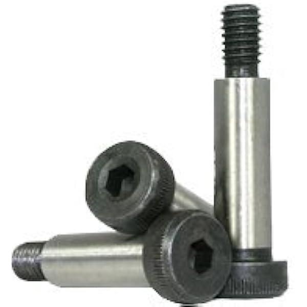 Alloy Steel Shoulder Screw Thread Size 1-1//8-7 Thread Size 1-1//8-7 FastenerParts