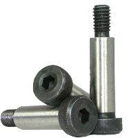 UNC Thermal Black Oxide, Length: 2-3//4 Alloy Steel 200pcs Size: 3//8-5//16-18 RoHS 3//8-5//16-18x2 3//4 UNC Socket Shoulder Screw Coarse Thread inch