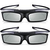 Branded New 2 x Samsung SSG-5150GB for D,E, ES, F Series TV Active 3D Glasses (Best Active 3d Glasses For Samsung Tv)