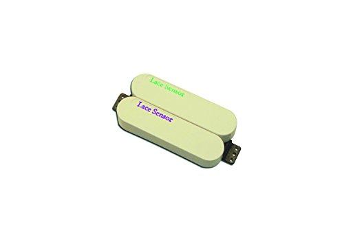 Lace 44483-03 Sensor Dually Bridge Pickup, Purple/Emerald and Cream Cover