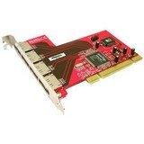 Addonics 4-port SATA RAID Controller - PCI-X - 300MBps - 4 x 7-pin Serial ATA/300 - Serial ATA Internal - ADSA4R5 by Addonics
