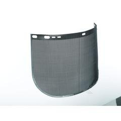 """Kimberly-Clark 29081 Professional Jackson Safety Model F60 9"""" X 15 1/2"""" X .016"""" Black Aluminum Bound Steel Mesh Wire Faceshield For Use With Headgear (1/EA)"""