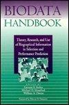 Biodata Handbook, Garnett Stokes, 0891060634