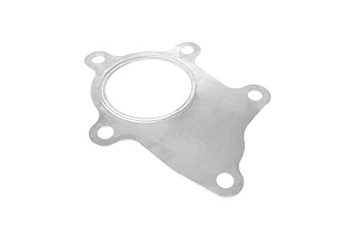 PitVisit PV Raceworks T3/T4 Turbo Discharge 5 Bolt Gasket Stainless Steel Compatible with Garrett Precision PTE Turbonetics Turbocharger ()