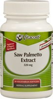 30 Vegetarian Softgels (Vitacost Organic Saw Palmetto Extract with Pumpkin Seed Oil -- 320 mg - 30 Vegetarian Softgels)