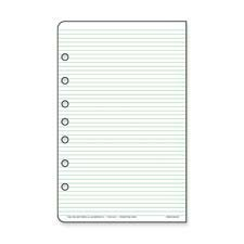 Day-timer Products - Multipurpose Lined Pages, Folio, 8-1/2x11, WE - Sold as 1 PK - Add-in sheets for Day-Timer organizers are multipurpose, ruled pages. Use them for meeting notes, project data, lists, memos, or anything else. Lines are narrowly spaced so