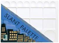 San Francisco Slant Palette 9x12, White