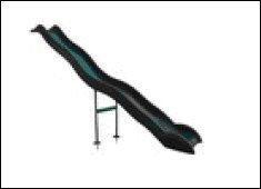 Anbaurutsche Wellenrutsche 3.80m dunkelgrün