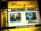 Maigret - les meilleures enquetes jean Richard, volume 22 - Le Temoignage de l'enfant de choeur - Un echec de Maigret