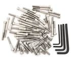 56 Bolts Compatible with Honda TL250 Trials 250-1976 Stainless Steel Allen Bolt Set