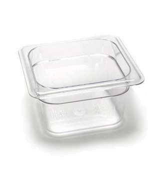Cambro 64CW135 Camwear Food Pan plastic 1/6-size 4