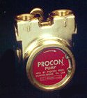 114B240F11XX - Procon brass, 240 GPH clamp-on, for 3/4 HP