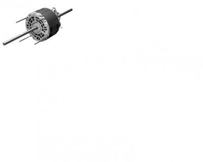 US Motors (Nidec), 1186.125HP, 1075RPM, 1PH, 115V, 48YZ Frame, Double Shaft Fan & Blower Motor.