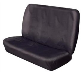 XtremeAuto/© REAR HEAVY DUTY BLACK BENCH SEAT COVER FOR RENAULT KANGOO