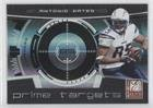 400 Gate - Antonio Gates #6/400 (Football Card) 2008 Donruss Elite - Prime Targets - Black #PT-15
