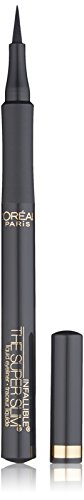 (L'Oréal Paris Makeup Infallible Super Slim Long-Lasting Liquid Eyeliner, Ultra-Fine Felt Tip, Quick Drying Formula, Glides on Smoothly, Grey, 0.034 fl. oz.)