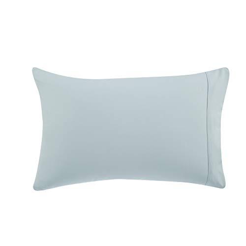 AmazonBasics Light-Weight Microfiber Pillowcases - 2-Pack, King, Spa Blue