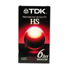 TDK T-120 12 Pack High Standard Grade VHS Blank Video Recording Cassette Tapes 12 Pack by TDK