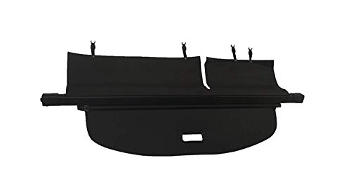 Kaungka Cargo Security Rear Trunk Cover Retractable for 14-18 Jeep Cherokee Cargo Cover Black (Hatch Cherokee Cover Jeep)