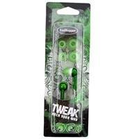 Wicked EH-272 EarHugger Tweak MicroMetallics Stereo Earbuds - Green