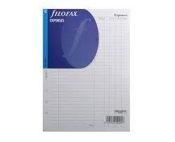 Repuesto de Agenda sin Fecha Filofax Todos los Tamaños y Variantes para Agendas Filofax - A5 - Gastos