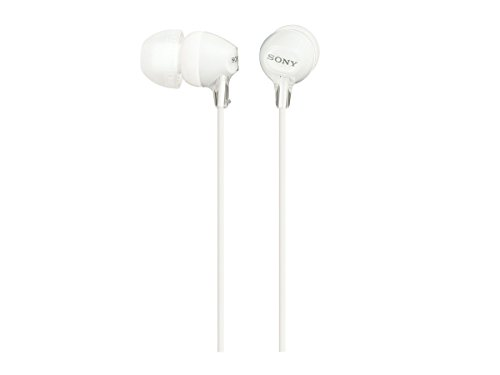 Sony MDREX15LP Fashion Color EX Series Earbuds (White)