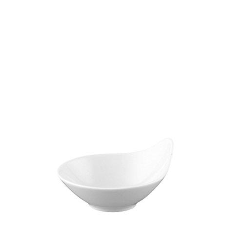 Rosenthal Free Spirit 3-1/2-Inch White Porcelain One-Arm Dish (Rosenthal Free Spirit White Porcelain)