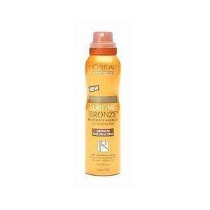 3 Auto New bronzage spray L'oreal Sublime Bronze (Moyen) Naturel TAN Pro Parfait, Spray 360 degrés en continu