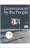 Government by the people, national version (22nd edition) by.
