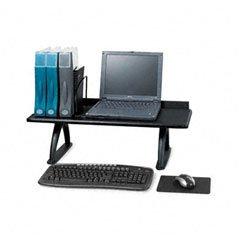 Value Mate Desk Riser, 100lb Capacity, 30w x 12d x 8h, Black