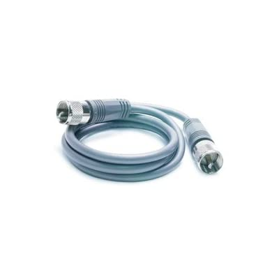 TruckSpec TS-8X3 Gray 3' CB Antenna Mini-8 Coax Cable with PL-259 Connector: Automotive