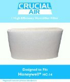 1 Honeywell HC-14 Humidifier Filter, Fits Honeywell HCM3500, HM3600 & HCM-6000, Compare to Part HC-14, HC14, Designed & Engineered by Crucial Air