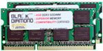 8GB 2X4GB RAM Memory for Acer Aspire Notebooks 5733-6838 Black Diamond Memory Module DDR3 SO-DIMM 204pin PC3-8500 1066MHz Upgrade