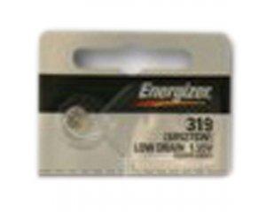Watch Silver Battery Oxide 319 (Energizer 319 Silver Oxide Watch Batteries SR527SW SR64)
