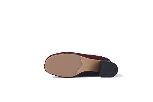 Sandales Abm13078 Red Balamasa Femme Compensées 5S5wd